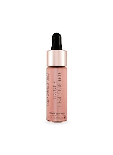 Makeup Revolutıon Makeup Revolution Liquid Highlighter Rose Gold Pembe